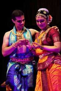 LIAF - Pushkala Gopal perform a rendition of the Bharatanatyam