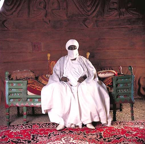 Bouba Abdoulaye, Sultan of Rey-Bouba, Cameroun featured in Daniel Laine's book African Kings.