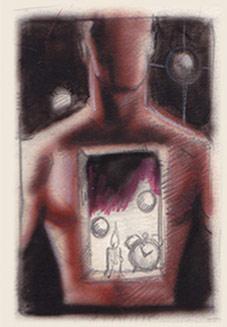 Junior Tomlin - Cosmic Man, sketch