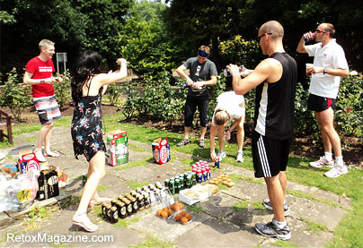 London Hash House Harriers Beerathon Group Games