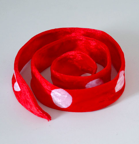 Red and white Christmas Headband from Hair Bandog