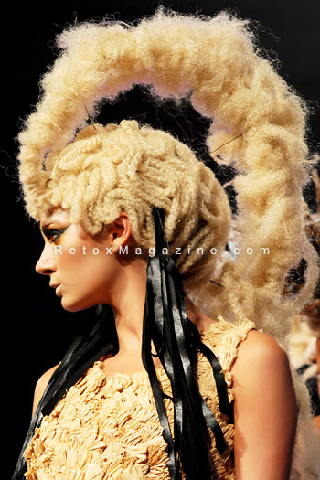 Stunning hair by David Murray - Alternative Hair Show, Royal Albert Hall, photo 1