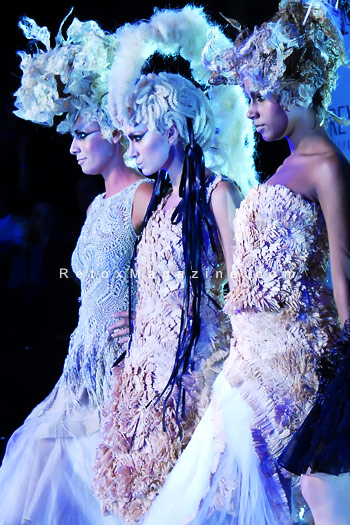 Stunning hair by David Murray - Alternative Hair Show, Royal Albert Hall, photo 2