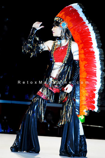 Energetic performance by Kohsuke Visual Network, Japan: Thunderbird - Alternative Hair Show - photo 2