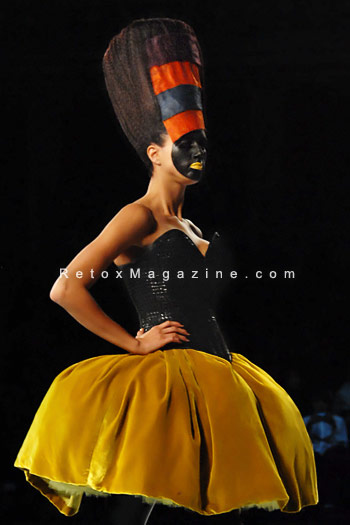 Stevo, Slovenia: Tech Glam - Alternative Hair Show - Royal Albert Hall, London - photo 1