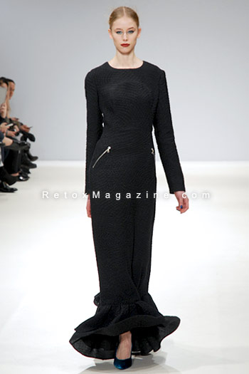 Yasya Minochkina, Mercedes-Benz Kiev Fashion Days catwalk - London Fashion Week, image13