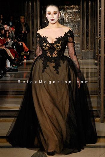 Ziad Ghanem catwalk show AW13 - London Fashion Week, image18
