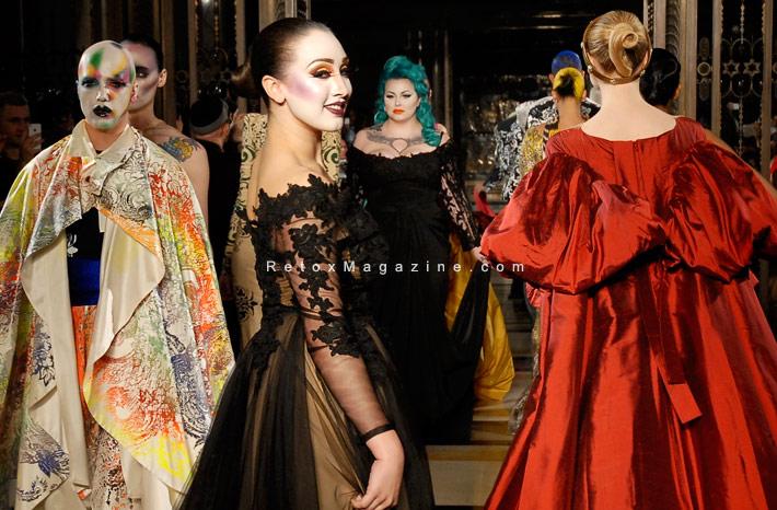 Ziad Ghanem catwalk show AW13 - London Fashion Week, image25