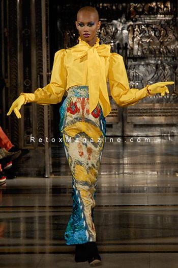 Ziad Ghanem catwalk show AW13 - London Fashion Week, image3