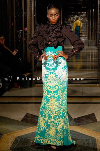 Ziad Ghanem catwalk show AW13 - London Fashion Week, image4