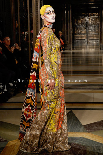 Ziad Ghanem catwalk show AW13 - London Fashion Week, image8