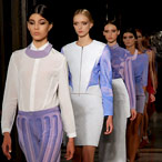 Krystof Strozyna, London Fashion Week, catwalk image