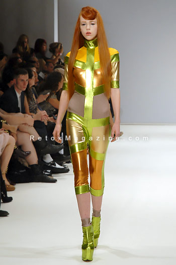 Pam Hogg, London Fashion Week, catwalk image9