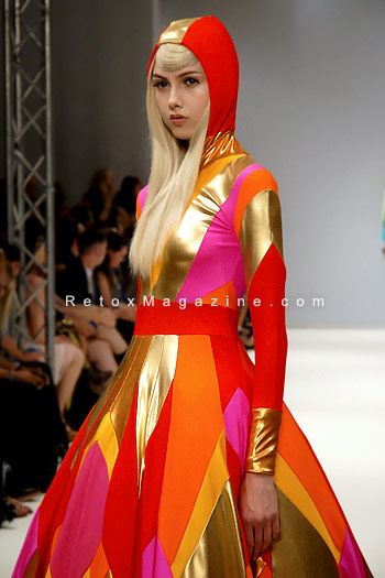 Pam Hogg, London Fashion Week, catwalk image11