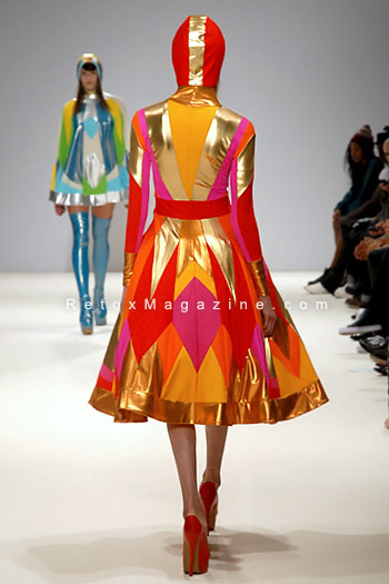 Pam Hogg, London Fashion Week, catwalk image12