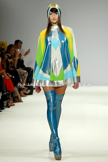 Pam Hogg, London Fashion Week, catwalk image13
