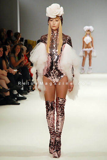Pam Hogg, London Fashion Week, catwalk image23