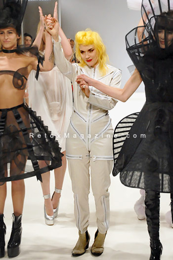 Pam Hogg, London Fashion Week, catwalk image33