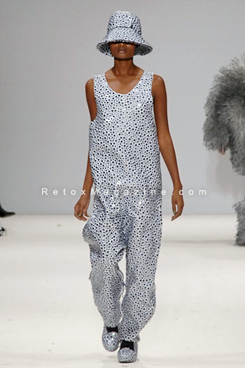Sofia Bahlner, London Fashion Week, catwalk image11