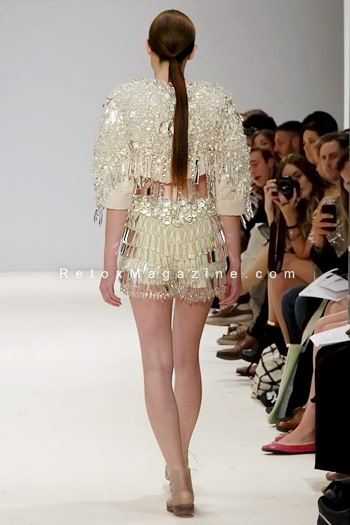 Sofia Bahlner, London Fashion Week, catwalk image16