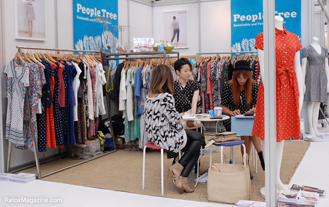 People Tree stand at Pure London