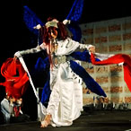 Eurocosplay Championships held at MCM Expo Comic Con in London – entry from France as Lilith from Trinity Blood