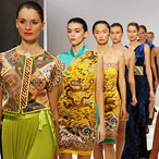 Jixiangzhai SS13 collection - London Fashion Week