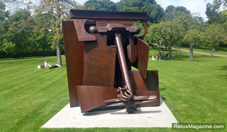 Anthony Caro, Erl King, Frieze Sculpture