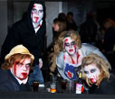 The Halloween Zombie Walk in Central London